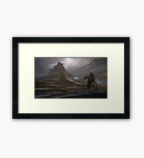 Skyrim - Whiterun Framed Print