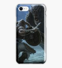 Skyrim - Into Battle iPhone Case/Skin