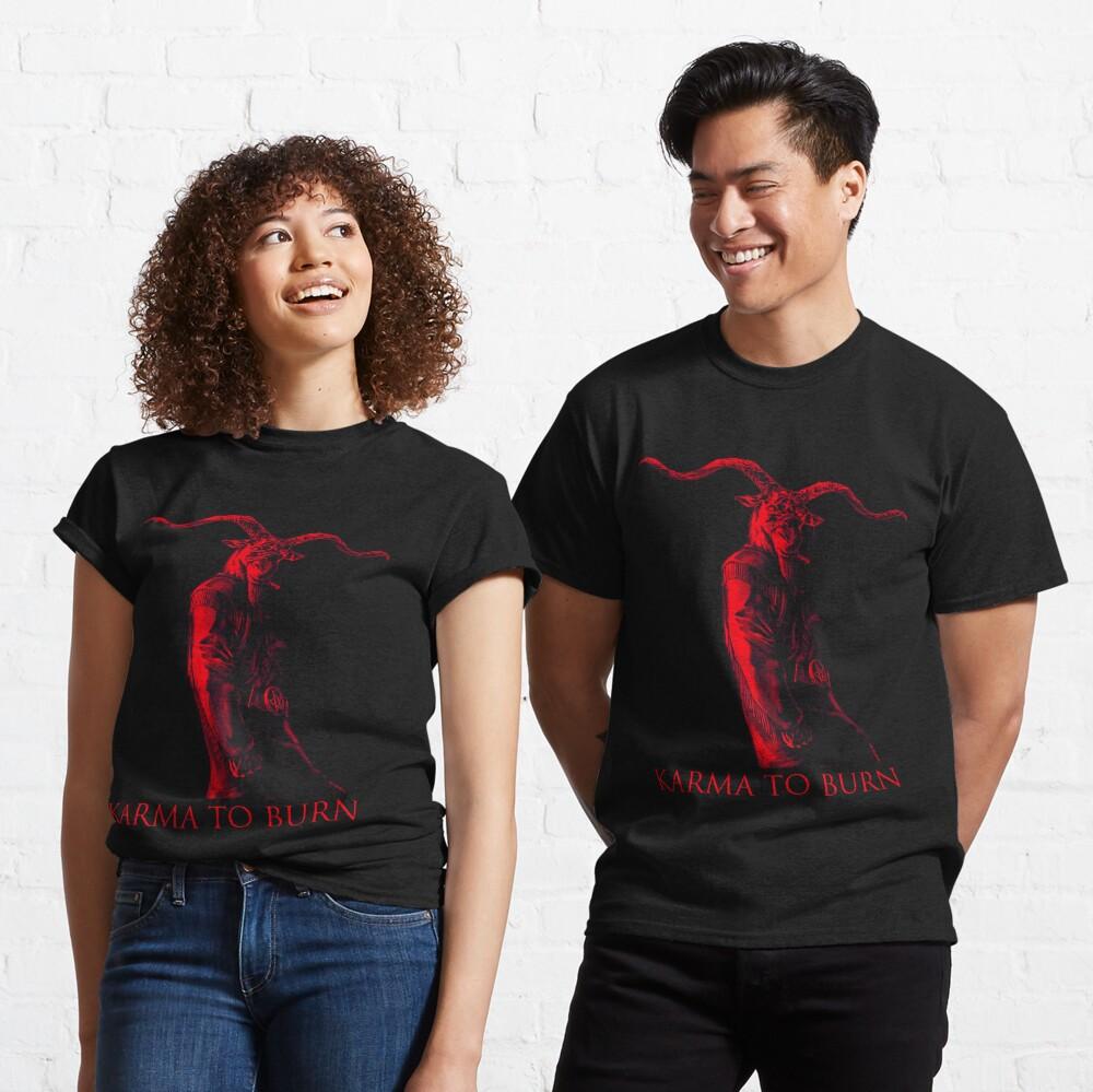 Karma To Burn - Red Goataneer Classic T-Shirt