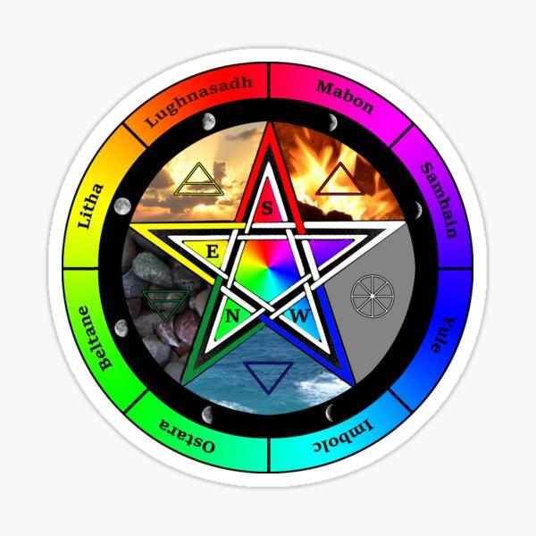 Elemental Pentagram  Sticker