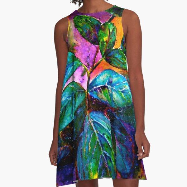 Tropical Fantasy.. A-Line Dress