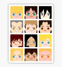 SnK BoxFace 2 Sticker