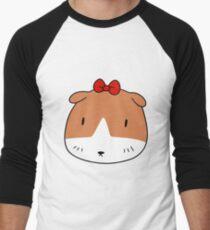 Bow Guinea Pig Face T-Shirt