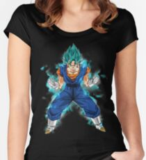 Dragon Ball Super - Vegito Blue (Vegetto) Women's Fitted Scoop T-Shirt