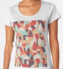 Little town. Women's Premium T-Shirt