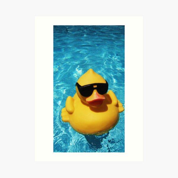 Cool McCool Duck Art Print