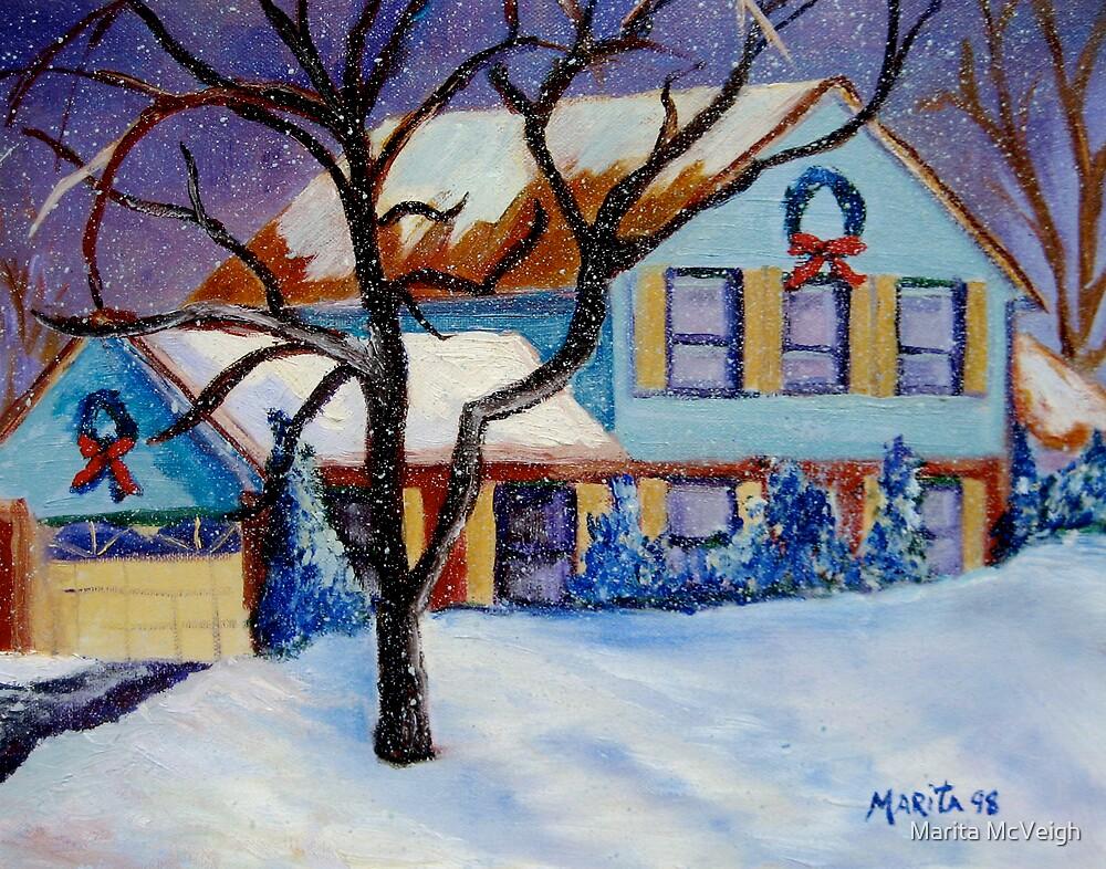 First Snowfall by Marita McVeigh