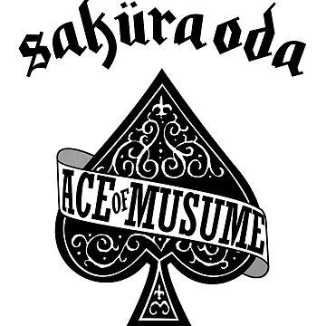 Sakura Oda - Ace of Musume - Black Ink by FoniMoni