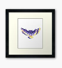 Beauty Has Her Way - The Owl Framed Print