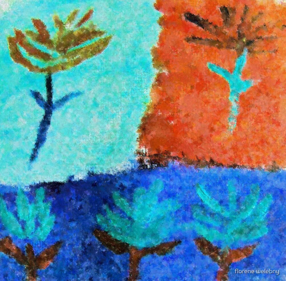 Five Flowers by florene welebny