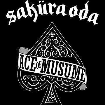 Sakura Oda - Ace of Musume - White Ink by FoniMoni