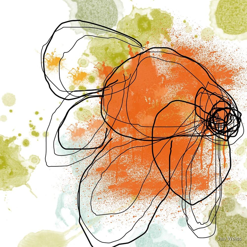 Liquid Orange by Jan Weiss
