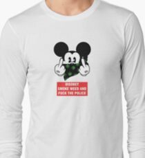 Micky Mouse Disobey Long Sleeve T-Shirt