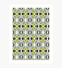 Spring Will Come Surface Pattern Design by Jenny Meehan  Art Print