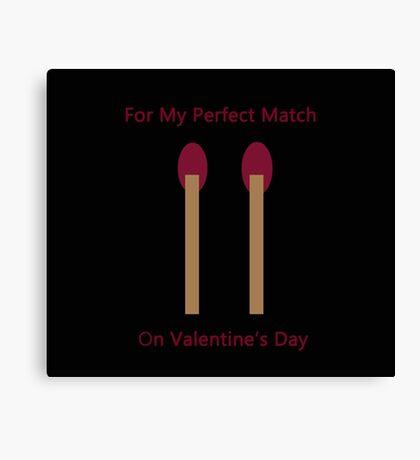Perfect Match Canvas Print