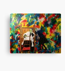 The Sacrament of Penance and Reconciliation. Canvas Print