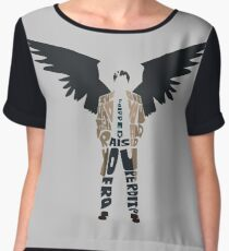 castiel Women's Chiffon Top