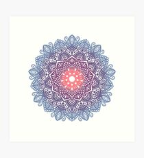 Beautiful mandala  Art Print