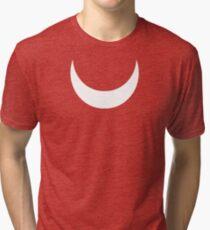 Knuckles Echidna's Crescent mark  Tri-blend T-Shirt