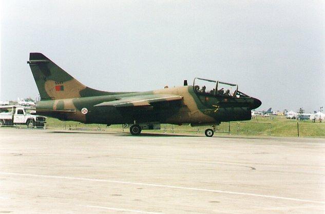 A7 Corsair of Portuguese Air Force by chord0