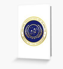 United Federation of Planets Presidential Seal Greeting Card