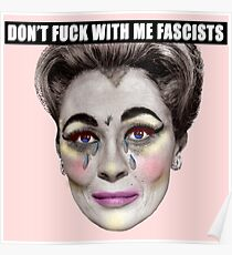 Joan - Don't Fuck With Me Poster