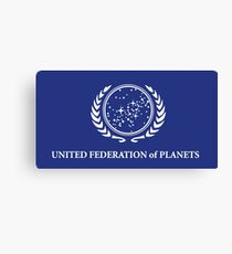 United Federation of Planets Flag Canvas Print