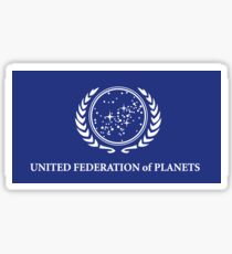 United Federation of Planets Flag Sticker