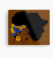 Für Afrikaner Metalldruck