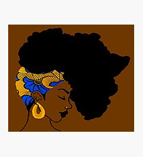 Fro African Photographic Print
