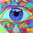 Eye With Silver Tear by Jeremy Aiyadurai