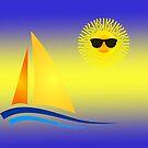 Sun Sailing by JohnDSmith