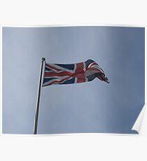 Union Jack Flag  Poster