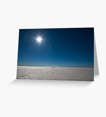 Lake Hart - South Australia Greeting Card
