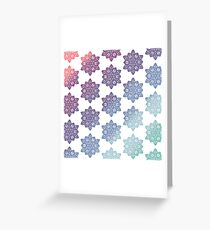 Mandala pattern  Greeting Card