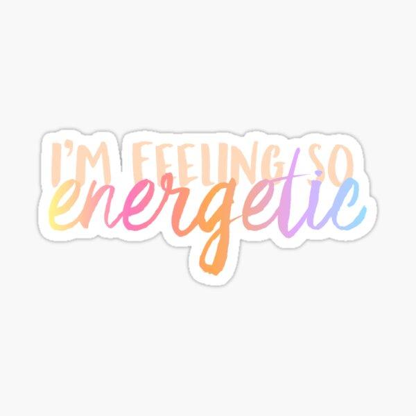WANNA ONE Energetic Sticker