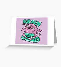 BrainDead Mutated Goblin Greeting Card