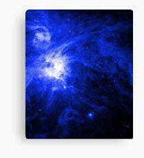 Orion Chaos Blue Canvas Print
