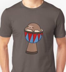 Little Sloth and Djembe T-Shirt