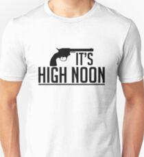 Mcree - It's High Noon (Black) T-Shirt