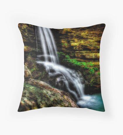 Magnolia Falls Throw Pillow