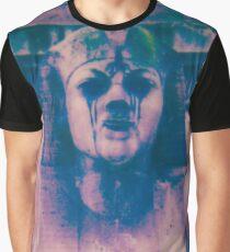 Dunkles Pferd Grafik T-Shirt
