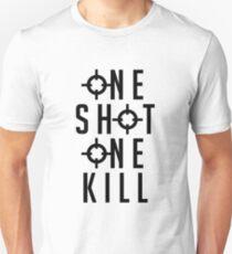Widowmaker - One Shot One Kill (Black) T-Shirt
