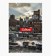 Culture Series: Paint City Photographic Print