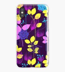 Foliage Lilac & Lemon [iPhone / iPod Case and Print] iPhone Case