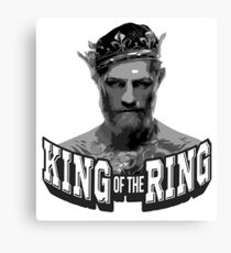 Conor McGregor King of the Ring Canvas Print