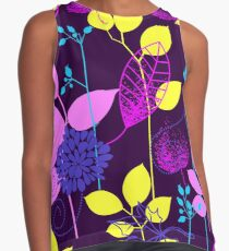 Foliage Lilac & Lemon [iPhone / iPod Case and Print] Contrast Tank
