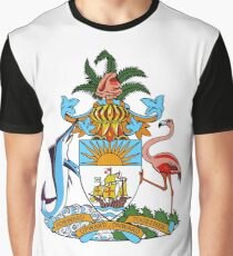 Bhamas Coat of Arms Graphic T-Shirt