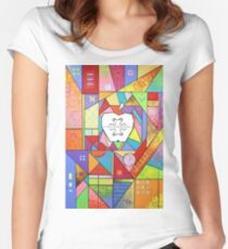 Knowledge, As Above, So Below Women's Fitted Scoop T-Shirt