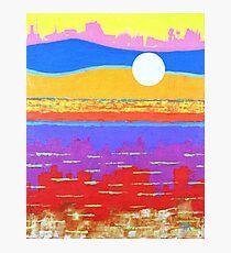 Fauvist Sunset Photographic Print